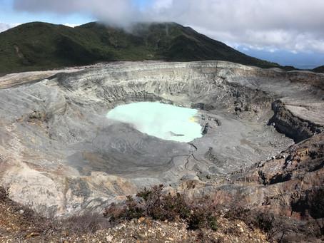 A trip to Poas + Eruption simulations!