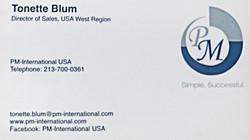 Blum, Tonette