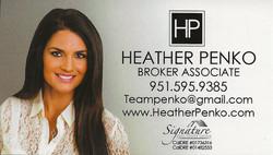 Penko, Heather