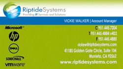 Walker, Vickie Business Card