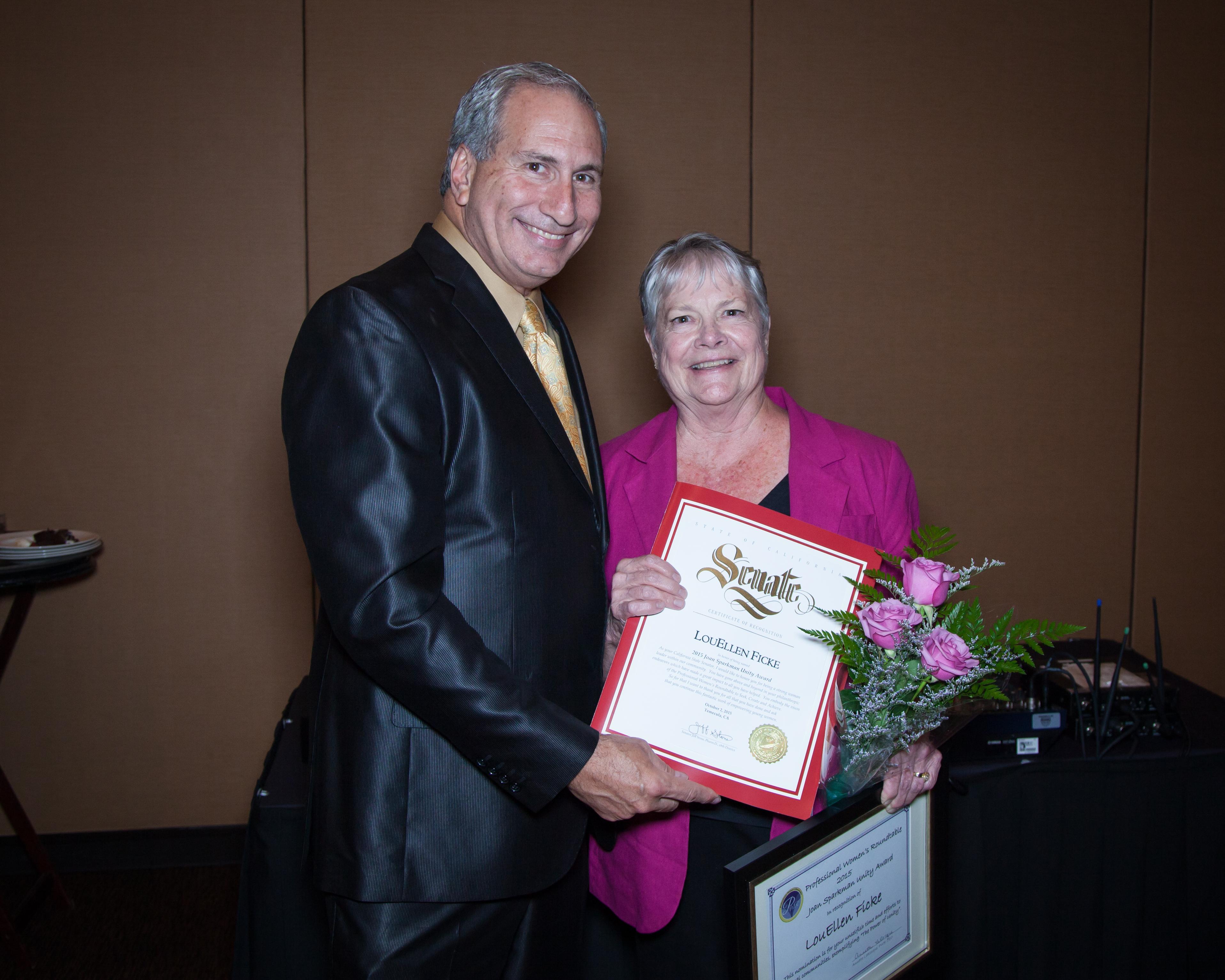 Lou Ellen Ficke & Jeff Stone