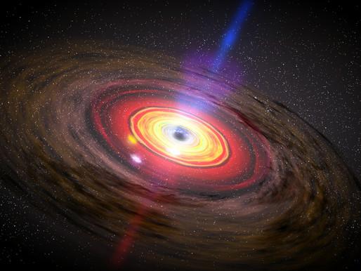 A Black Hole as Metaphor