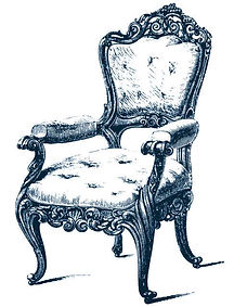 French Carved Fauteuil Parlor Chair