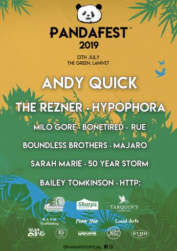 PandaFest 2019 Music Festival Rezner Band