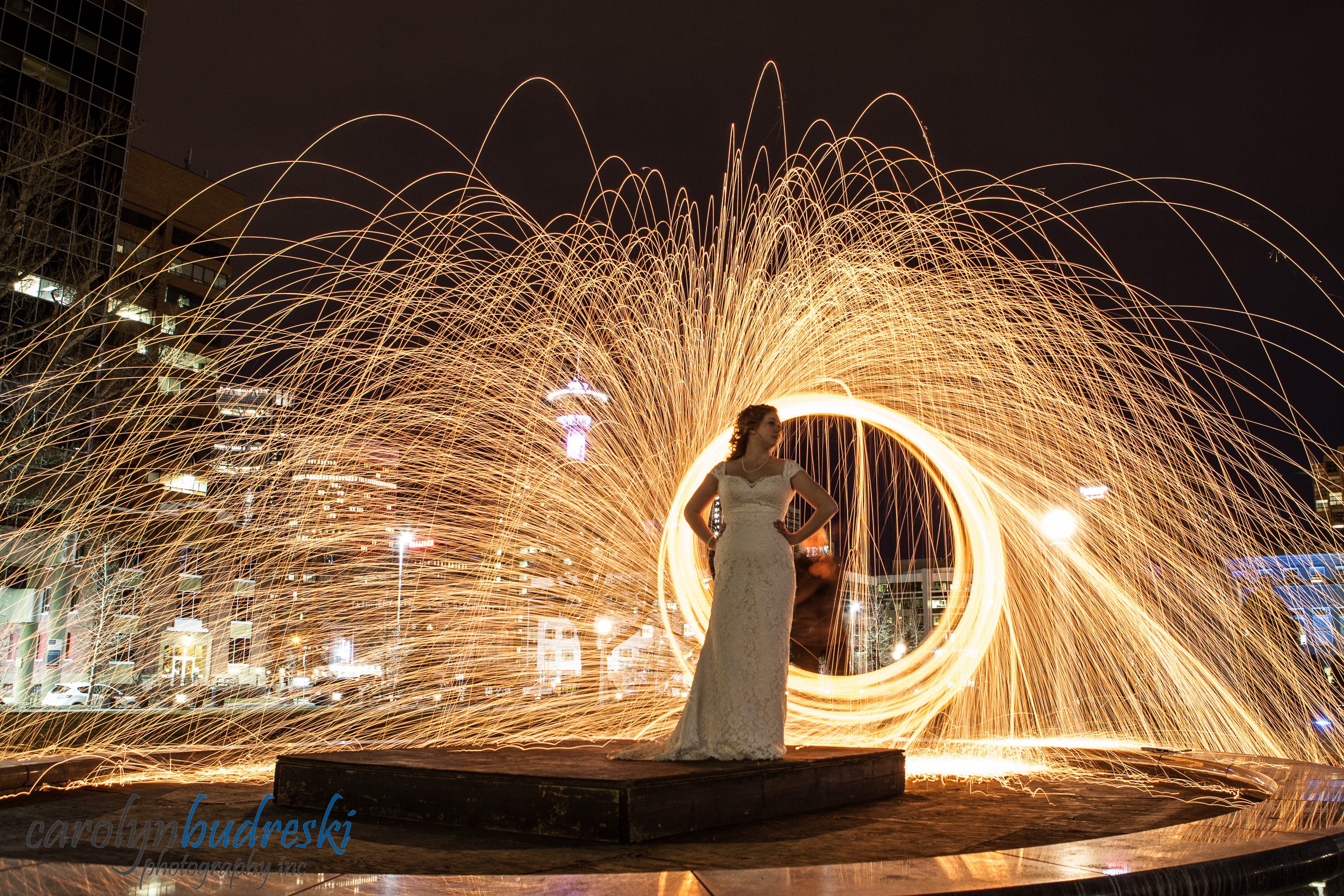 calgary fire wedding photography