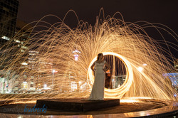 calgary fire wedding photography