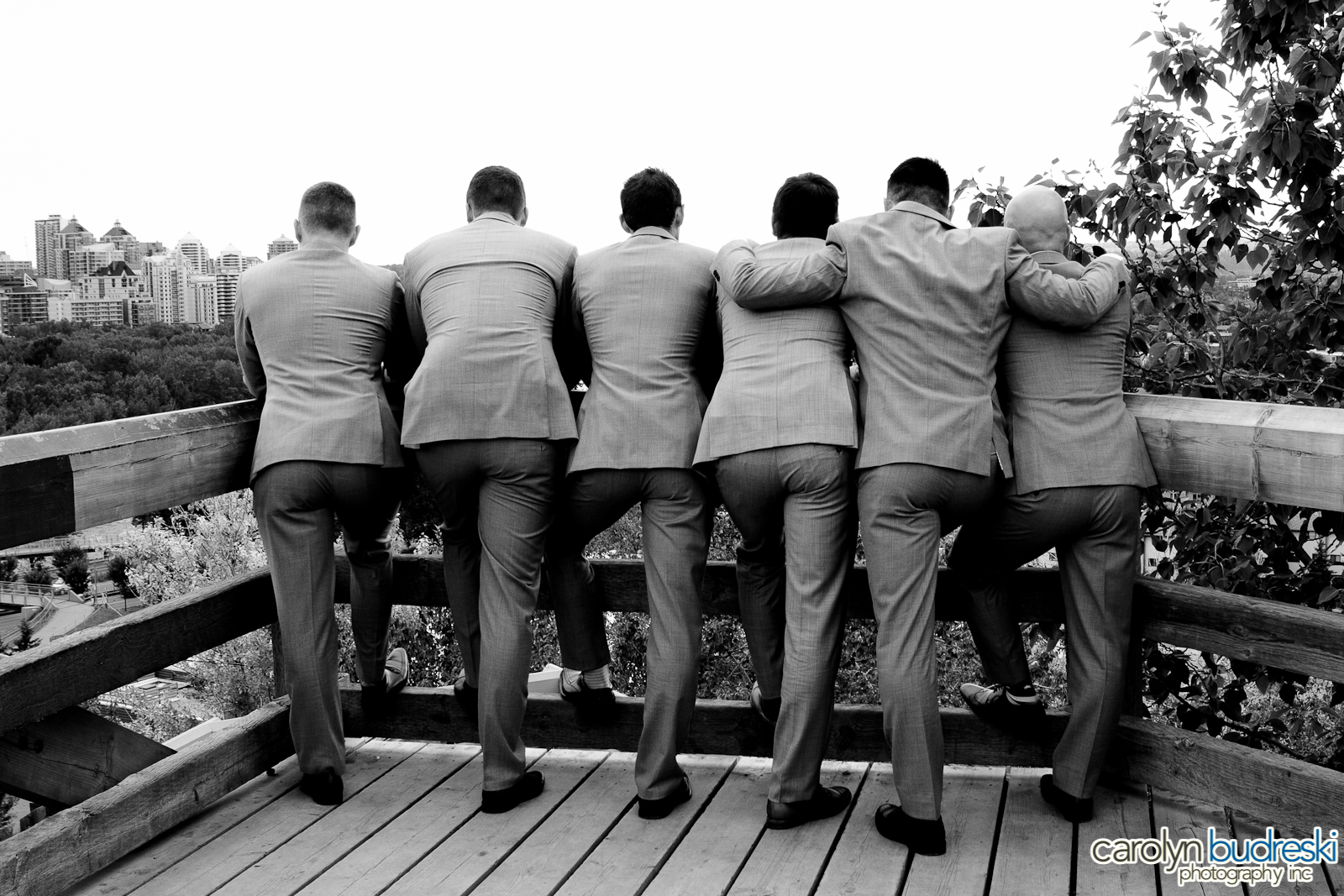 Calgary Wedding Groomsmen