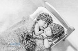calgary twin newborn photographer