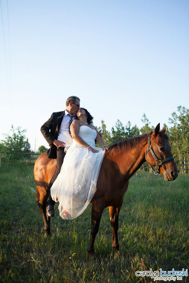 Dewinton, AB Wedding