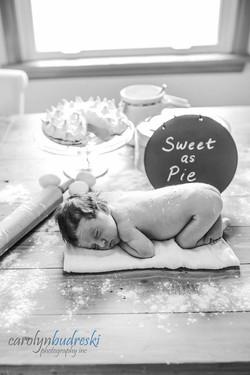 sweet as pie newborn