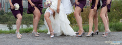 Calgary Wedding Bridesmaids Photogra