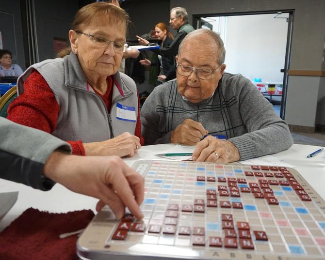 Teams S-P-E-L-L to W-I-N at Scrabble Tournament