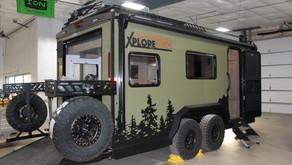 XploreRV XR 22 Extreme Offroad Travel Trailer (& Toy Hauler)