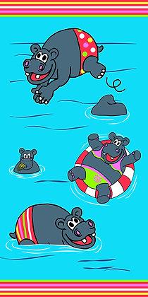 DRAP DE PLAGE HIPPO