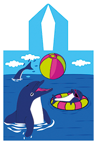 PONCHO  DOLPHIN GAME