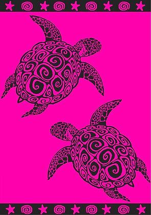 FUCHSIA TURTLE XL