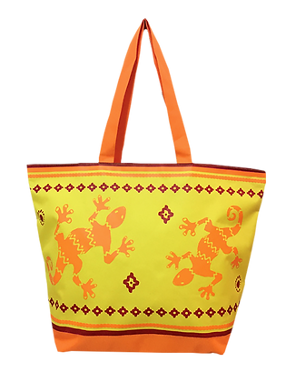 BEACH BAG GEKKO JAUNE