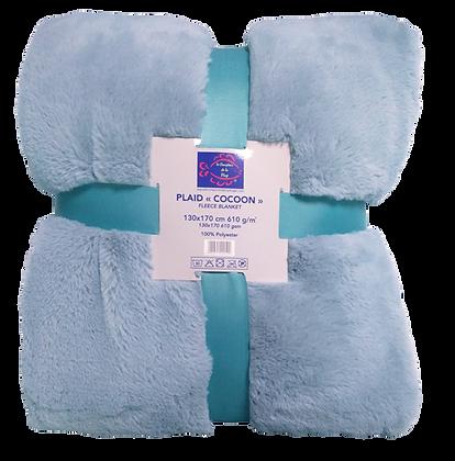 PLAID COCOON 610 g/m² - ASHLEY BLUE
