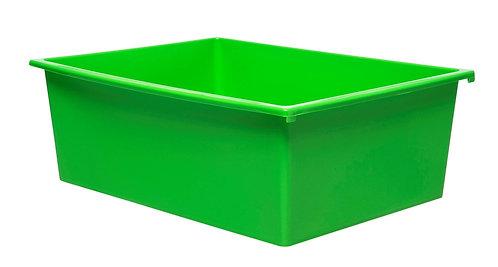 3 Kid Smart Storage Tubs Large, Green - PK 1