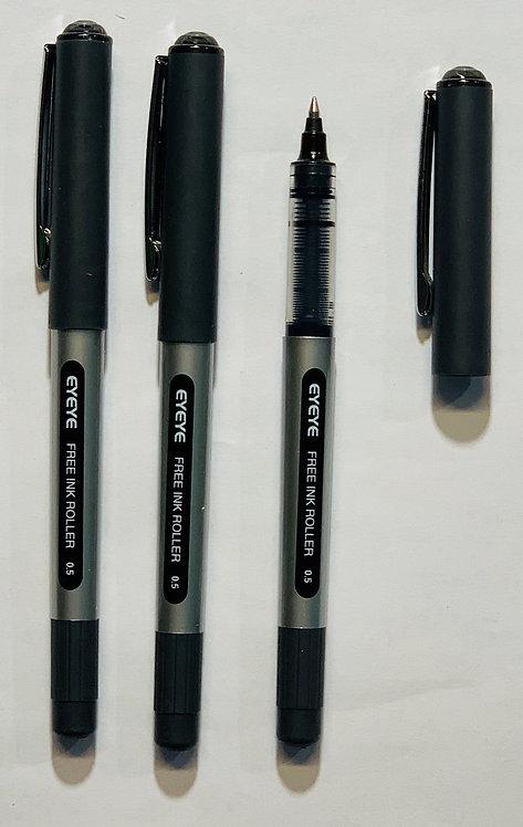 Eyeye Roller Ball Pen, Black, 0.5mm - Box 12