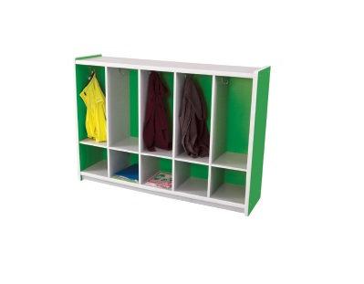 Kids Smart Coat Locker Green