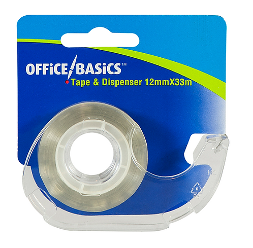 Sticky Tape with Dispenser 12 MM x 33 M