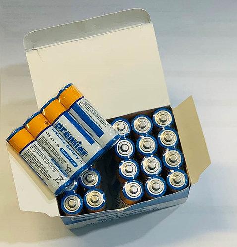 Premier AA Alkaline Batteries Pack 24