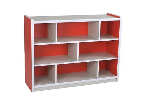 Kids Smart Storage Unit 8 Compartment Red