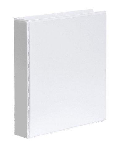 Premier Insert Binder A4 4D 25MM White