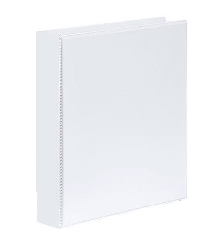 Premier Insert Binder A4 2D 38MM White
