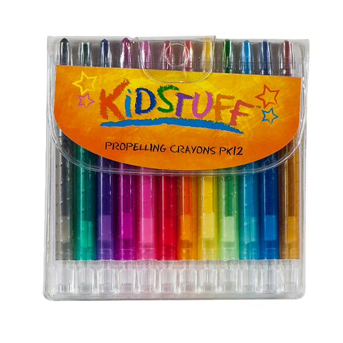 12 Twist Crayons - PK 1