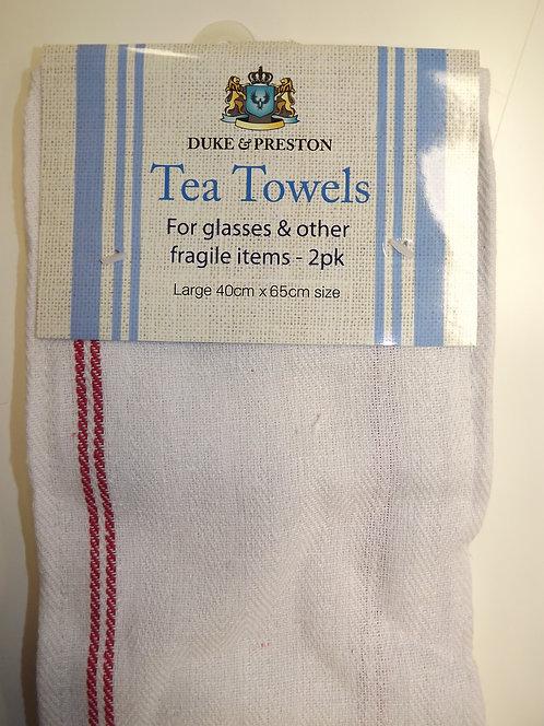2 Duke & Preston Glass Tea Towels - PK 1
