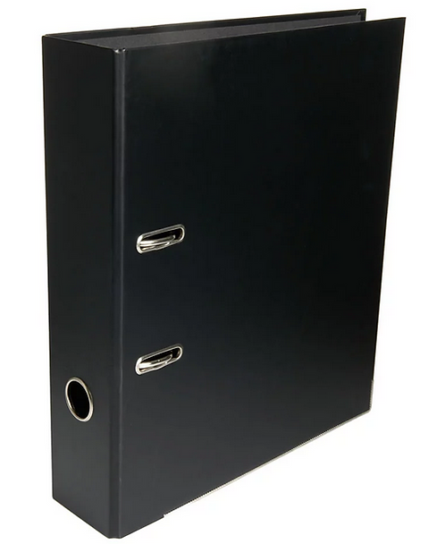 Lever Arch File PP A4 Size - Black
