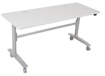Rectangular Folding Table Grey Frame