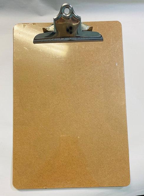 A4 Size Masonite Clipboard Bulldog Clip