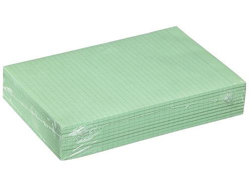 Premier Writing Pad A4 Ruled Bond 60gsm Green 100 Sheets Box 10