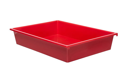 3 Kid Smart Storage Tubs Small, Red - PK 1