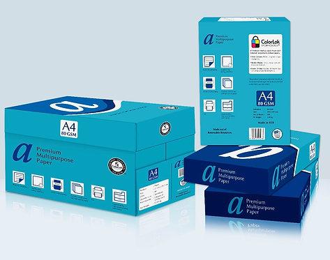 Premium Multipurpose A4 Copy Paper 80 GSM