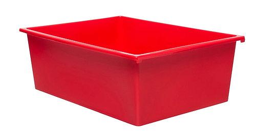 3 Kid Smart Storage Tubs Large, Red - PK 1