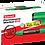 Thumbnail: Luxor Jumbo Permanent Marker 810, Green - Box 6