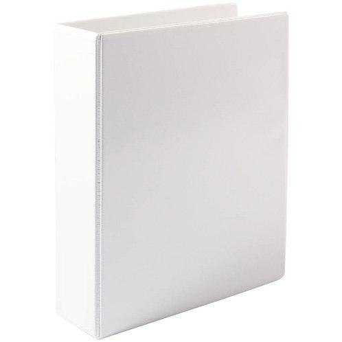 Premier Insert Binder A4 2D 50MM White