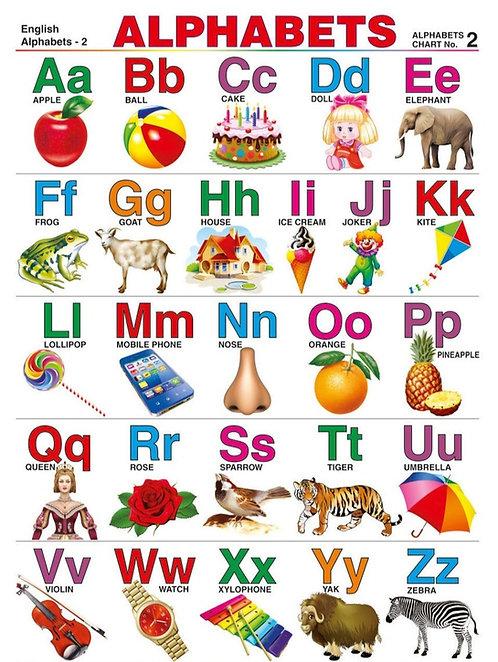 Wall Chart-Alphabet