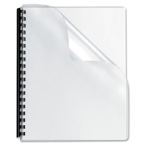Clear Binding Cover 200 Micron Pack of 100