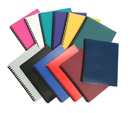 Display Book Assorted Colours