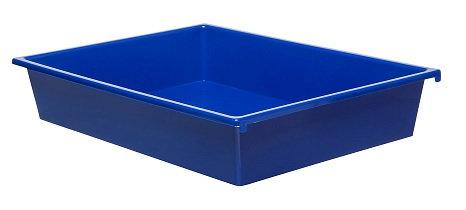 3 Kid Smart Storage Tubs Small, Royal Blue - PK 1