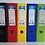 Thumbnail: Premier A4 PVC Lever Arch Files Assorted Colours Heavy Duty 75mm