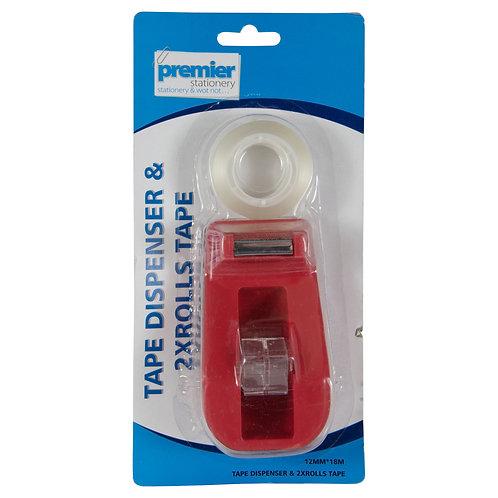 Premier Tape Dispenser 33 MM 2 x Rolls