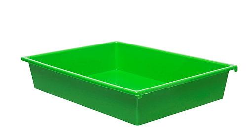 3 Kid Smart Storage Tubs Small, Green - PK 1