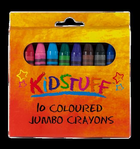 10 Crayons Jumbo - PK 1