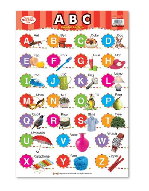 Wall Chart-Capital Letters